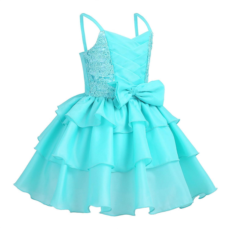 iiniim Baby Mädchen Kleid Prinzessin Hochzeit Kleid ...