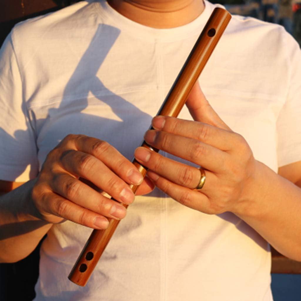 ZJJXD Mini Piccolo Porte avec Lui Les Instruments De Musique E Fl/ûte De Bambou Amer sans Trou De Film Convient Aux D/ébutants /Étudiants Adultes Et Enfants