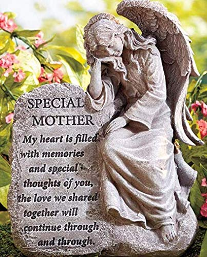 Special Mother Memorial Garden Angels (Memorial Plaques For Benches Ideas)