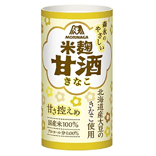 森永製菓 森永のやさしい米麹甘酒 きなこ