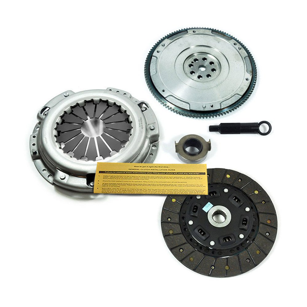EFT HD CLUTCH KIT+FLYWHEEL fits HONDA ACCORD PRELUDE ACURA CL 2.2L 2.3L 4CYL EFORTISSIMO