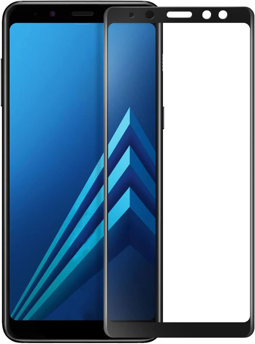 KuGi. para Samsung Galaxy M10 Protector de Pantalla, Cristal ...