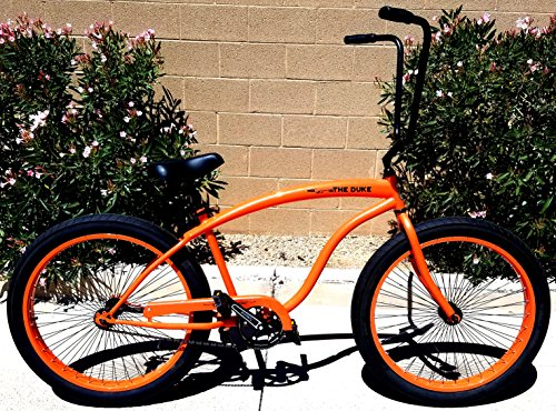 Colby Cruisers Duke 3.0 Fat Tire Big Wheel Bicycle (Orange)