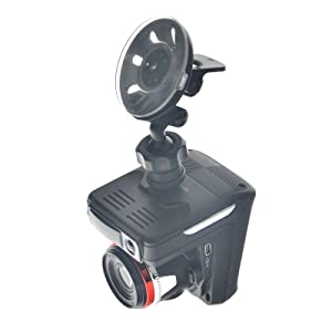 toyofmine 2.4'' HD 1080P Dash Cam Car Video Camera Recorder Radar Speed Detector DVR