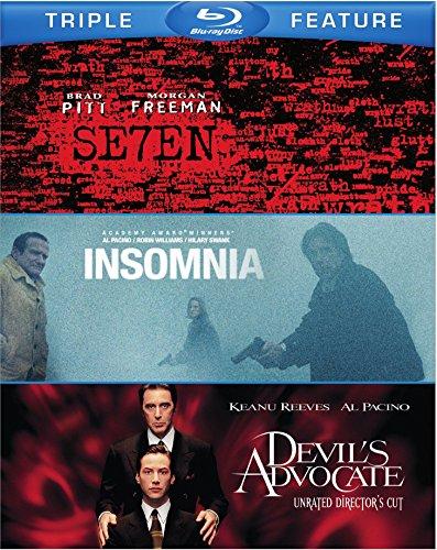 Blu-ray : Seven / Devil's Advocate / Insomnia (3 Pack, 3 Disc)