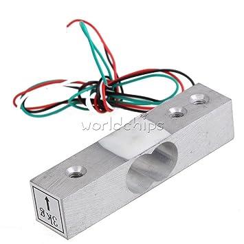 Electronic yzc-131 3 kg peso peso escala célula de carga del sensor de presión Cocina: Amazon.es: Electrónica