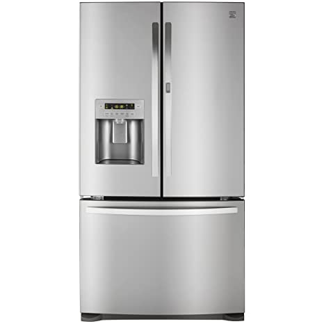 Superbe Kenmore 73063 26.6 Cu. Ft. French Door Bottom Freezer Refrigerator With  Grab N