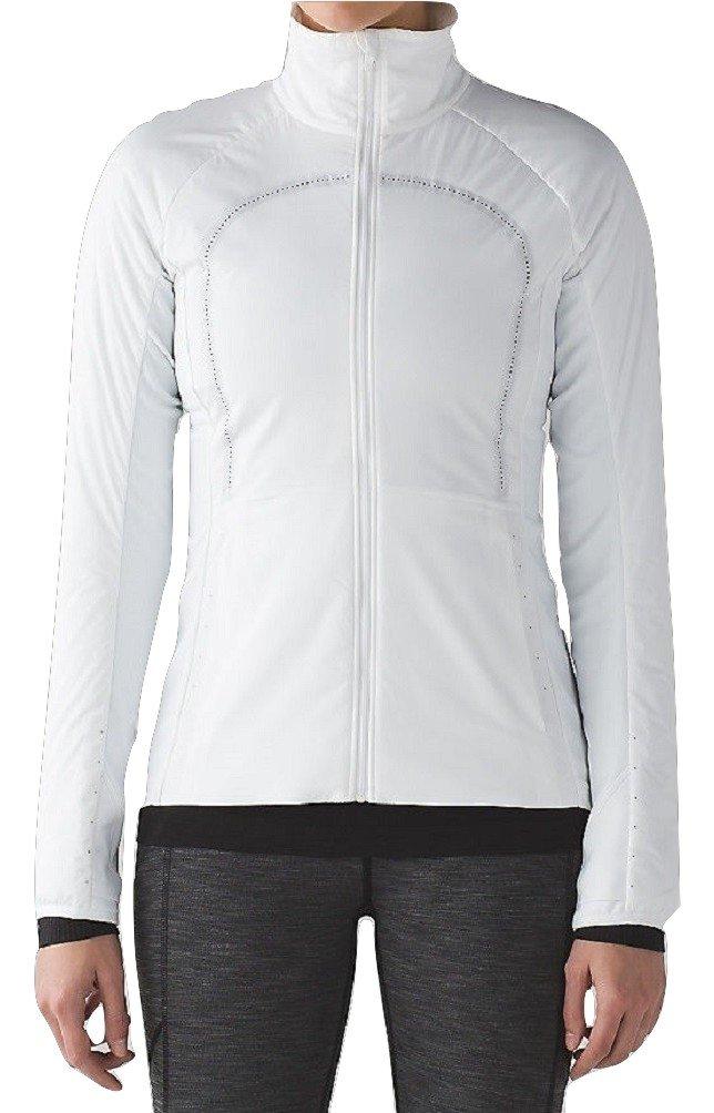 Lululemon Run For Cold Jacket (6, White)