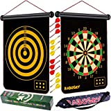 Rabosky Magnetic Dart Board for Kids, Safe Dart