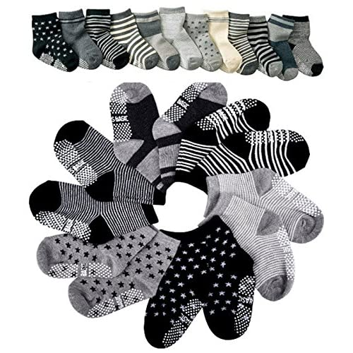 Pro1rise® Assorted 6 Pairs Non-skid Socks