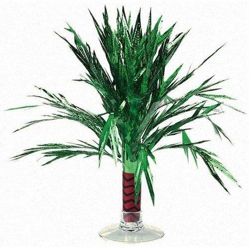 Centerpiece Metallic Cascade Mini Palm Tree
