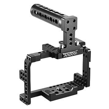 Andoer Video Camera jaula stabiliseur Protector de aleación de ...