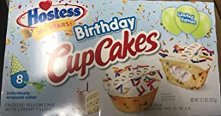 product image for Hostess LIMITED EDITION (2 Boxes) BONUS 1 Hostess Coffee Cake Individually Wrapped (Limited Edition Birthday Cupcakes)