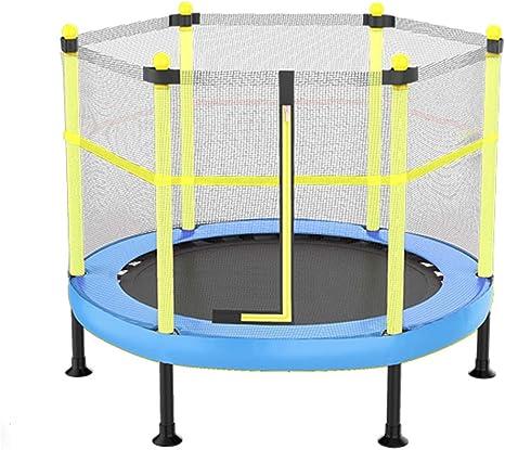 Trampolín ADKINC Malla de Seguridad, aro de Baloncesto y Escalera - Nuevo Mejorado aro de Baloncesto para niños - Múltiples Opciones de Color: Amazon.es: Deportes y aire libre