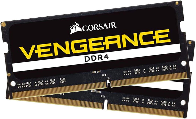 Corsair Vengeance 32GB (2 x 16GB) 260-Pin SO-DIMM ddr4 3000 (PC4 24000) Laptop Memory Model CMSX32GX4M2A3000C18
