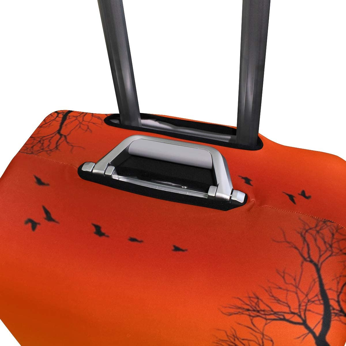 MALPLENA Landscapes Nature Animals Trees Lakes Sunset Pattern Luggage Protector Suitcase Cover