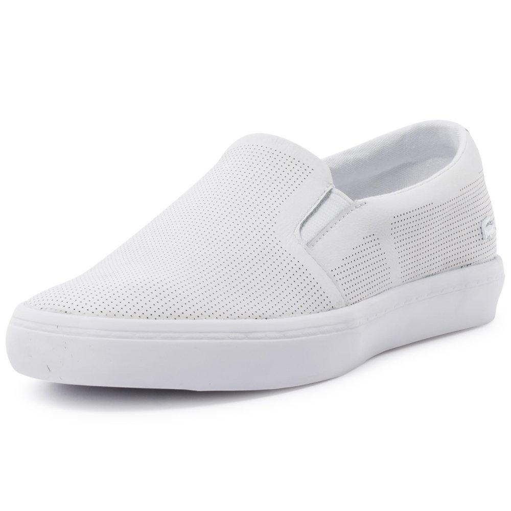 265d5544b36697 Lacoste Gazon 116 Womens Slip On White - 8 UK  Amazon.ca  Shoes   Handbags