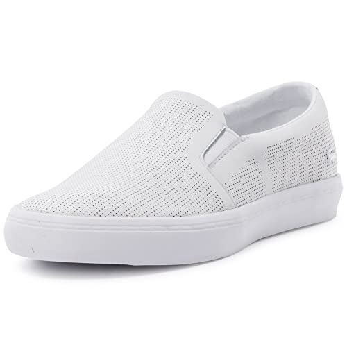 a3f62507624f4d Lacoste Gazon 116 Womens Slip On White - 8 UK  Amazon.ca  Shoes ...
