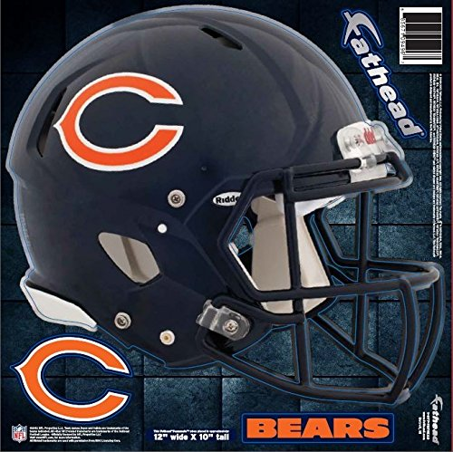 FATHEAD NFL Chicago Bears Helmet Decal