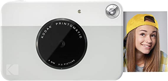 Kodak PRINTOMATIC Digital Instant Print Camera (Grey)
