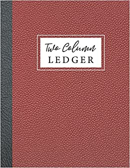 amazon two column ledger accounting journal entry book 2 column