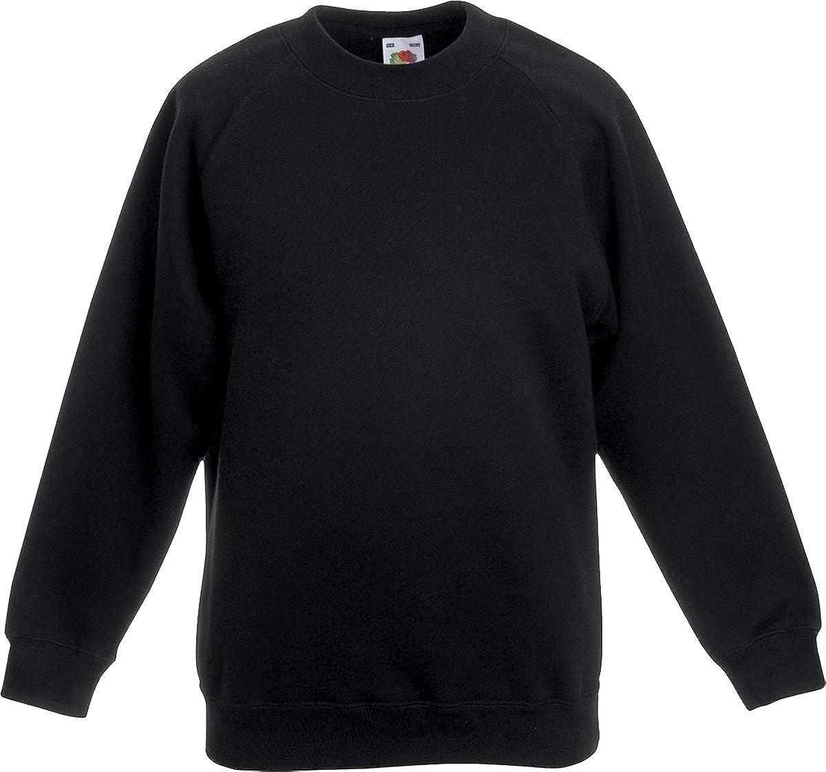 "Trutex Unisex Sweat Cardigan,Black 7-8 Years School Uniform-Size 23-25/"" Chest"