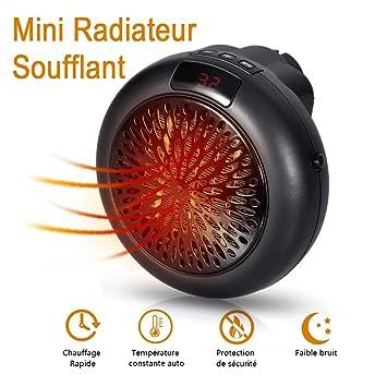Radiateur Soufflant Salle De Bain   Mini Chauffage Soufflant Electrique,  Puissance 600 W, Chauffage