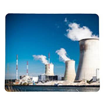 alfombrilla de ratón central nuclear - rectangular: Amazon ...
