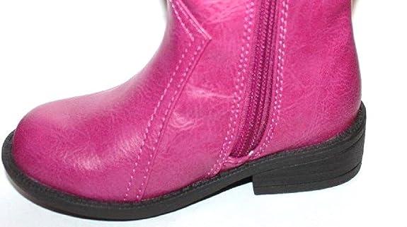 26dcefd22f5b Amazon.com | Faded Glory Girls Baby Toddler Preschool Pink Western Cowgirl  Boots w/Glitter Star | Boots