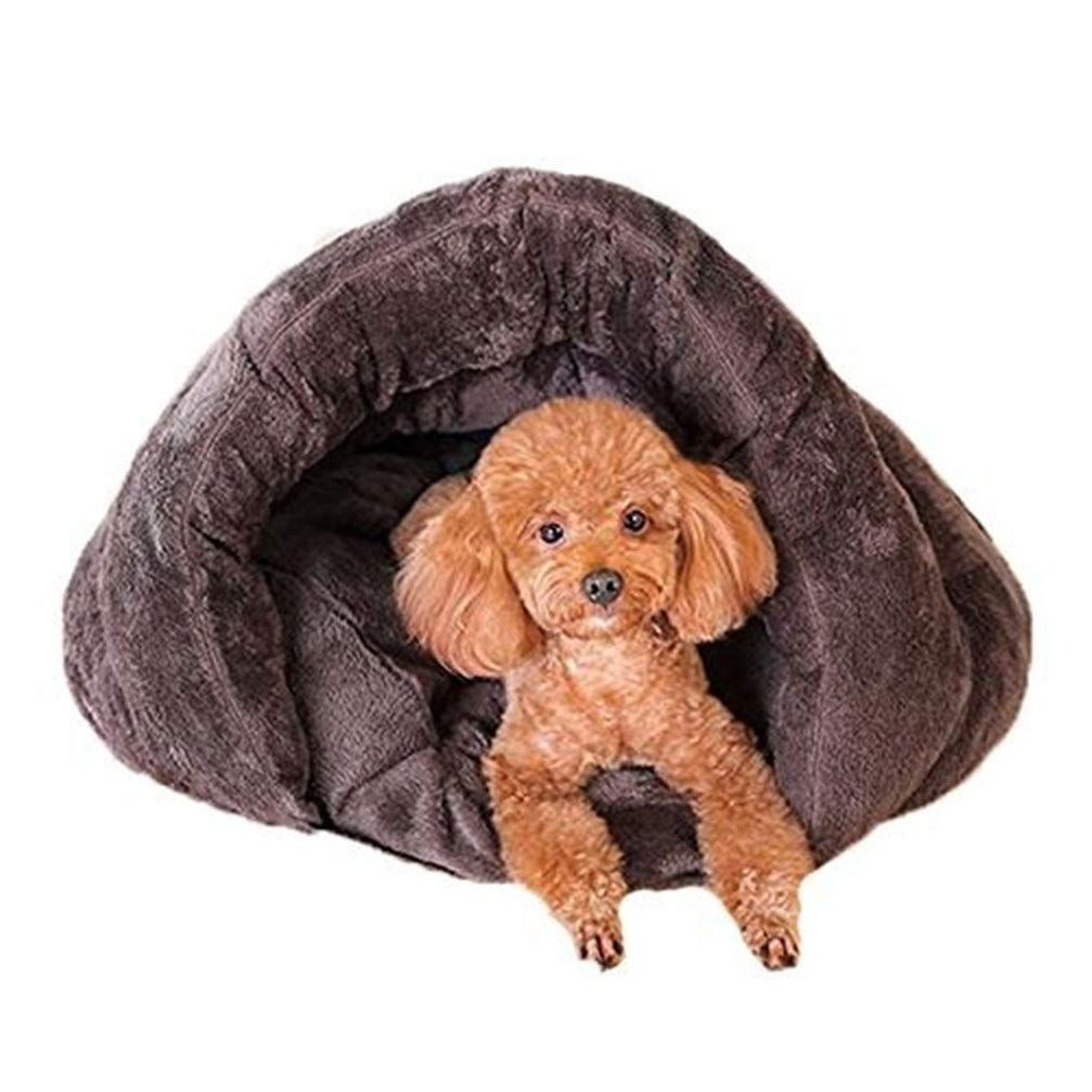 Chunchun Quality Pet Products Soft Washable Cat Sleeping Bag Teddy Small Dog Puppy Doghouse (Size : M) by Chunchun