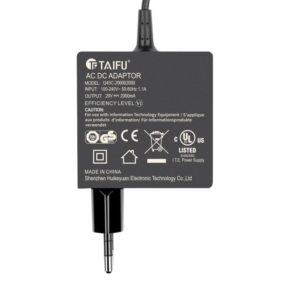 TAIFU 20V 2A Cargador Power para Lenovo Yoga 3 Pro-1370, Yoga 3-11 1170, 1470 Yoga 3-14 tableta, Lenovo miix2-11 adaptador del ordenador portátil, ...
