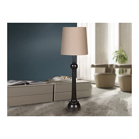 Schuller SL Lámpara de pie negro de Lida: Amazon.es: Iluminación