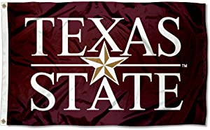Texas State Bobcats University Large College Flag