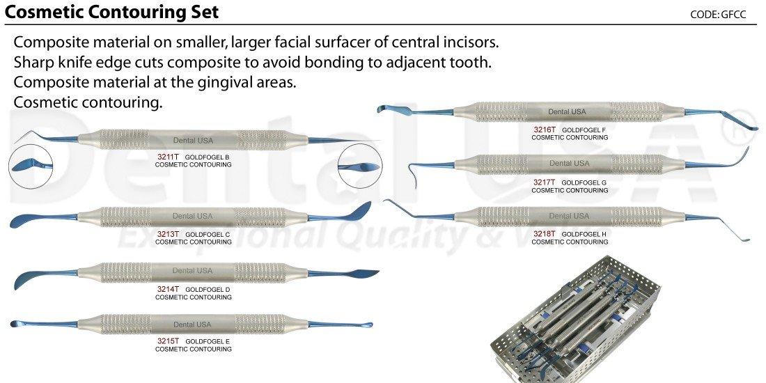 Dental USA-Cosmetic Contouring Set Code-GFCC