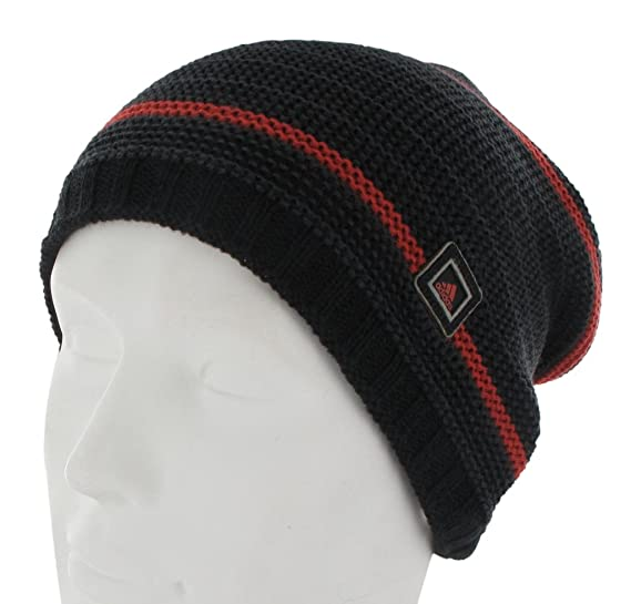 7eef77bb402 Amazon.com  adidas Men s Slouch Beanie Hat