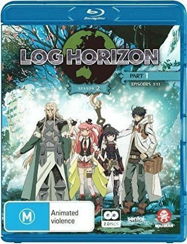 Log Horizon Season 2 Part 1: Eps 1-13 [Blu-ray]