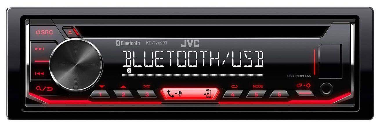 1999-2001 caraudio24 JVC KD-T702BT MP3 CD AUX Bluetooth USB Autoradio f/ür Rover 75