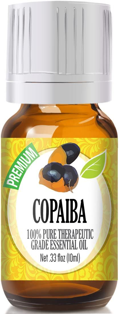 Copaiba Essential Oil - 100% Pure Therapeutic Grade Copaiba Oil - 10ml