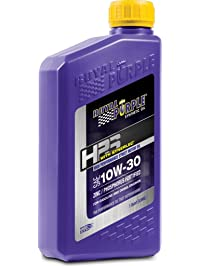 Royal Purple 36130-6PK HPS 10W-30 Synthetic Motor Oil with Synerlec Additive Technology, 1 Quart Bottle, Case of 6