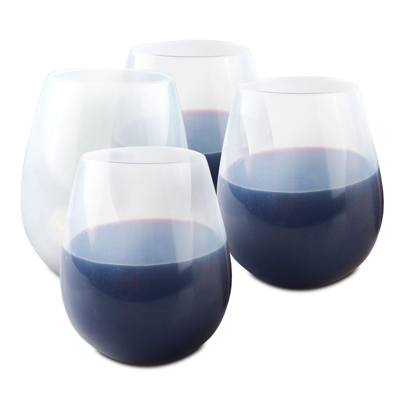 ORBLUE Copas de vino flexibles de silicona para acampada, 454 g: Amazon.es: Hogar