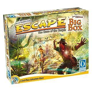 Queen Games Escape Big Box 2nd Edition Family Dice-Board Game