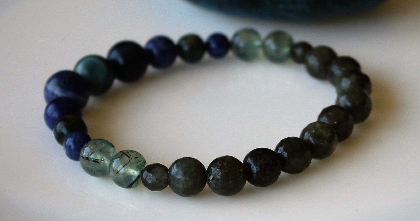 WEIGHT LOSS Healing Crystal Bracelet/Boost Metabolism/Reduce Appetite/Support with Food Addictions