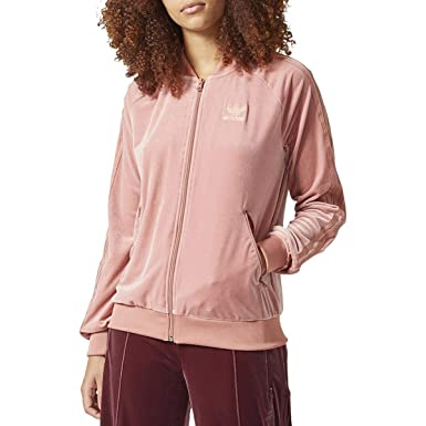 adidas Womens Track Fitness Athletic Jacket at Amazon