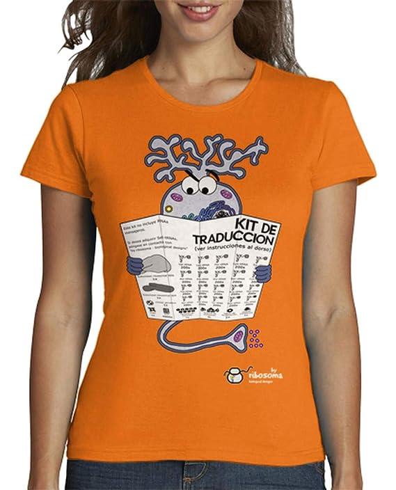 Camiseta Kit de Traducción biología· para Mujer