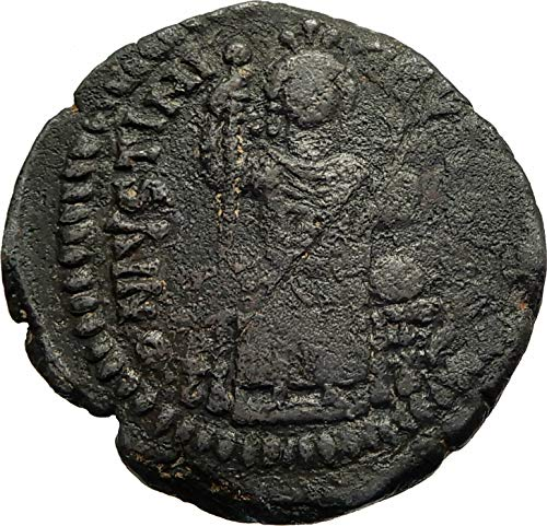 1000 TR JUSTINIAN I the GREAT Authentic Ancient Antioch F coin Good