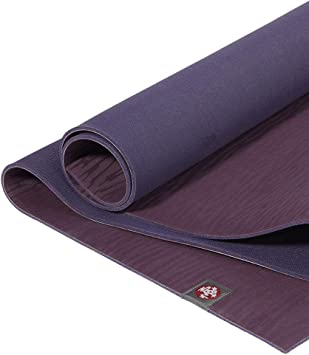 Manduka eKO Yoga Mat – Premium 6mm Thick Mat, Eco Friendly and Made from Natural Tree Rubber. Ultimate Catch Grip for Superior Traction, Dense ...