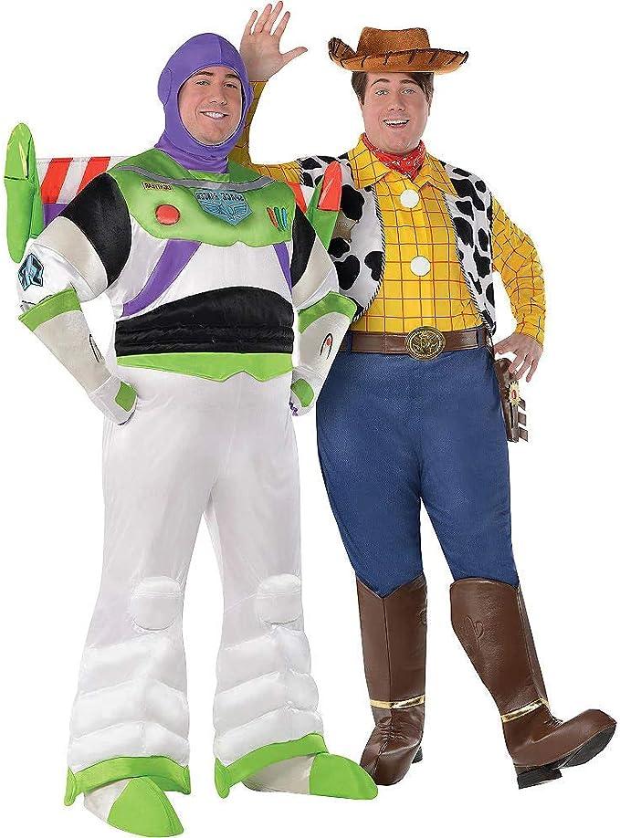 HalloCostume Disfraz de Buzz Lightyear & Woody para Parejas de ...