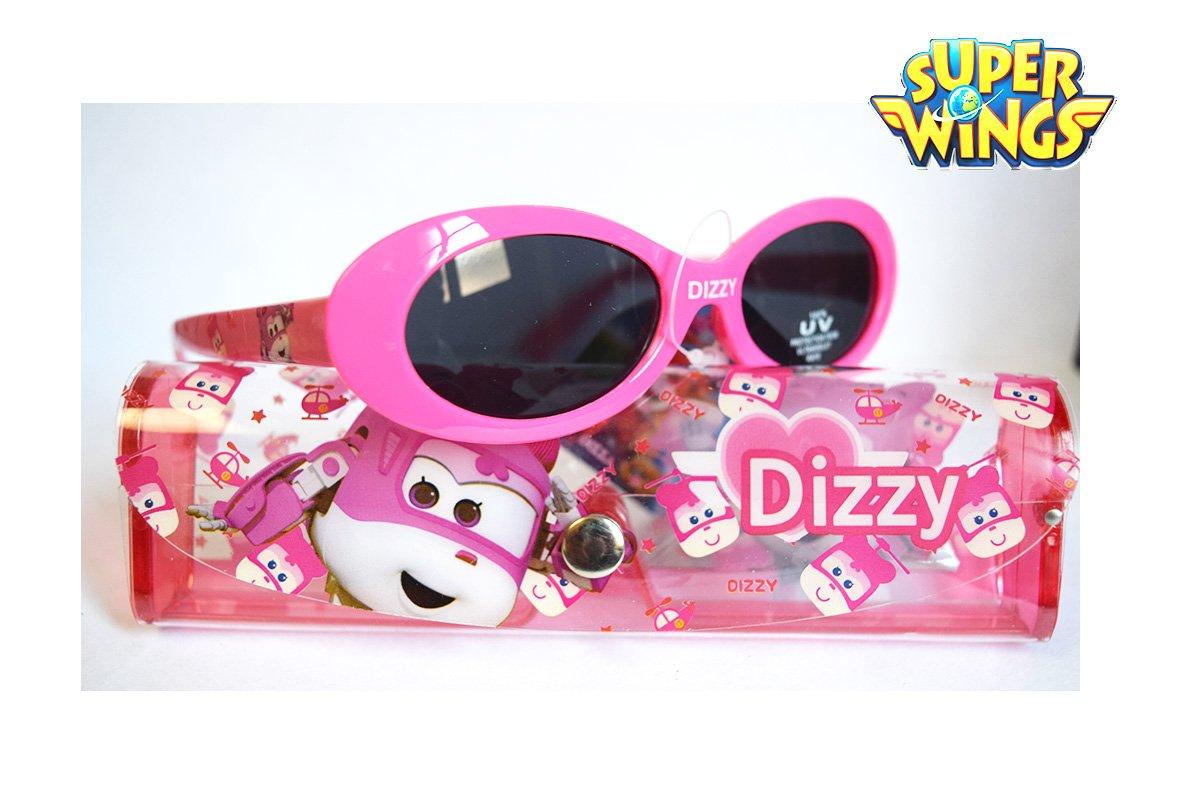 5e3b3a148d Super Wings Gafas de Sol niña Dizzy - Rosa - con Funda de Almacenamiento -  Oficial: Amazon.es: Deportes y aire libre