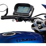 UltimateAddons Montage pour guidon de moto Libération rapide et boîtier GPS pour séries TomTom Go via Start Series