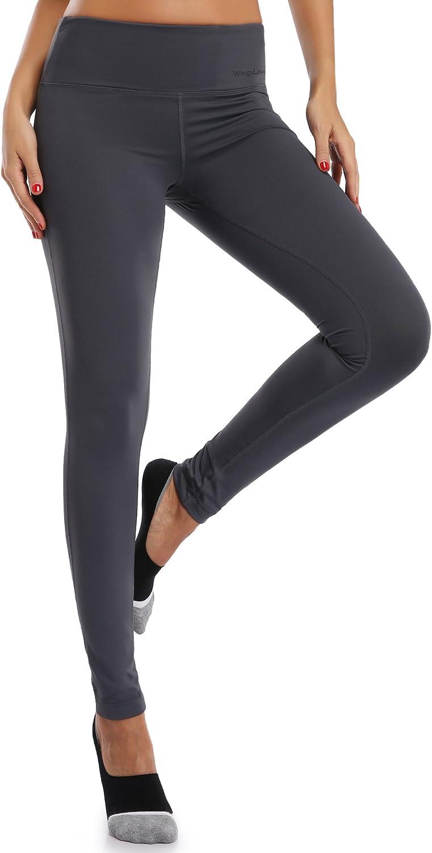 Wingslove Donna Leggins Sportivi Pantaloni da Ginnastica Running Fitness Yoga Gym Tight